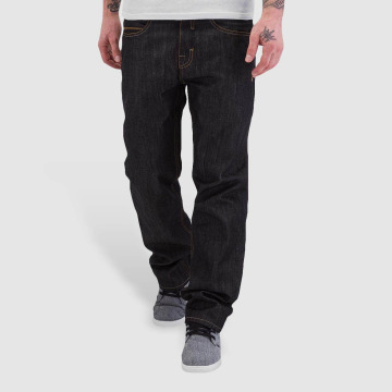 Pelle Pelle Loose Fit Jeans Baxten Demin čern