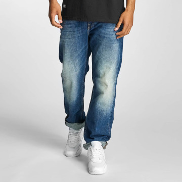 Pelle Pelle Loose Fit Jeans Baxter Denim blau