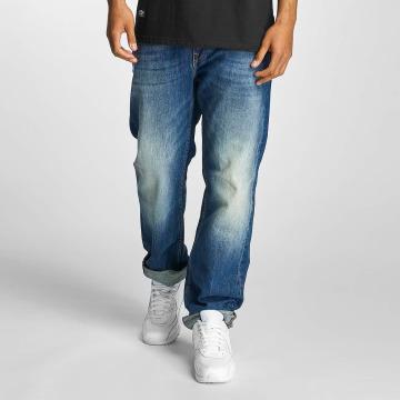 Pelle Pelle Loose fit jeans Baxter Denim blauw