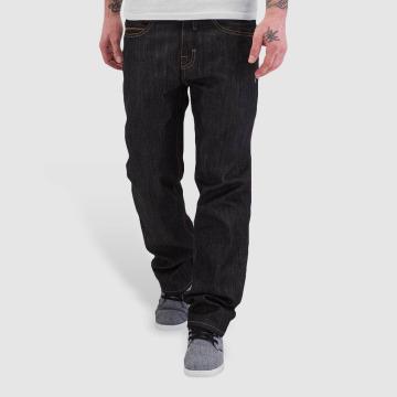Pelle Pelle Loose fit jeans Baxten Demin svart