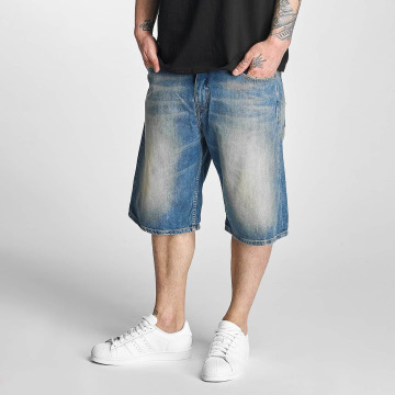 Pelle Pelle Shorts Buster Baggy Denim blå
