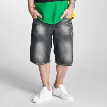 Pelle Pelle Shorts Buster Baggy Denim schwarz