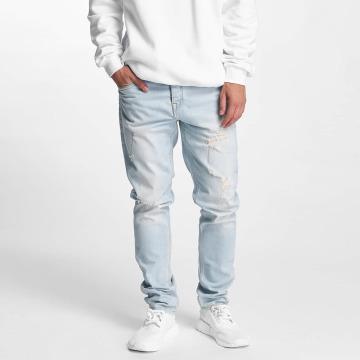 Pelle Pelle Slim Fit Jeans Scotty Denim blauw