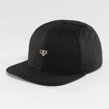 Pelle Pelle Snapback Cap Icon Plate black
