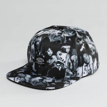 Pelle Pelle Snapback Cap G.B.N.F. schwarz