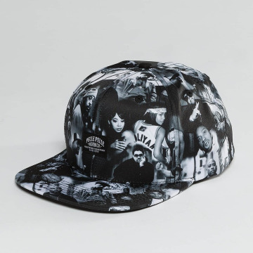 Pelle Pelle snapback cap G.B.N.F. zwart