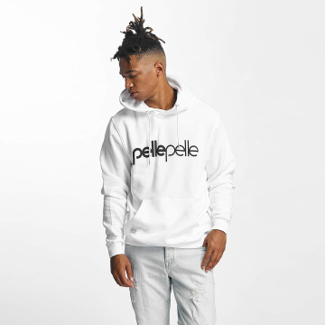 Pelle Pelle Sweat capuche Back 2 Basics blanc
