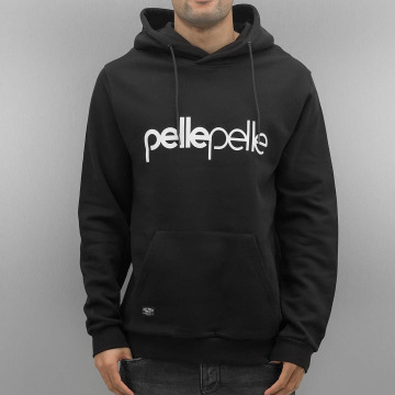 Pelle Pelle Sweat capuche Back 2 Basics noir