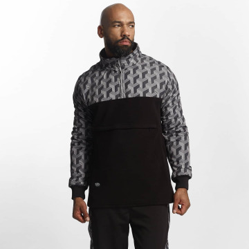 Pelle Pelle Swetry Blockparty Mockneck czarny