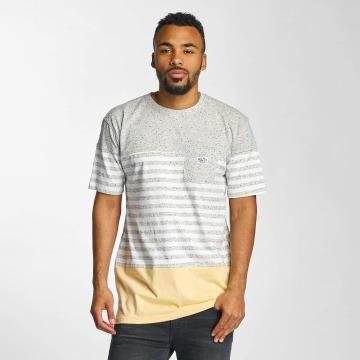 Pelle Pelle T-Shirt Colorblock Pocket grau