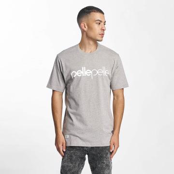 Pelle Pelle T-Shirt Back 2 Basics gray