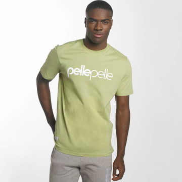 Pelle Pelle T-Shirt Back 2 Basics green