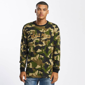 Pelle Pelle T-Shirt manches longues Full Camo camouflage