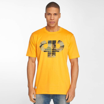 Pelle Pelle t-shirt Camo Icon oranje