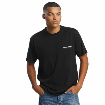 Pelle Pelle T-Shirt Flags schwarz