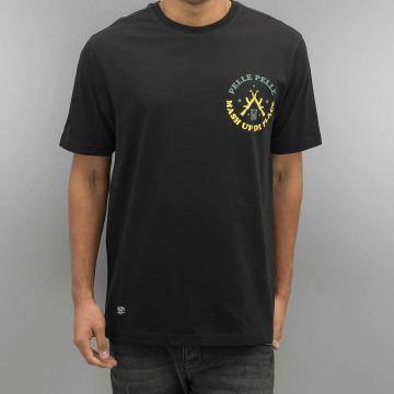 Pelle Pelle t-shirt Mash Up zwart