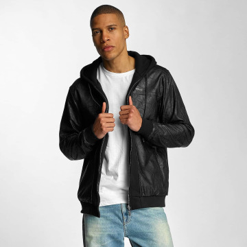 Pelle Pelle Välikausitakit Mix-Up Padded Hooded musta