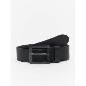 Petrol Industries Belts Leather svart