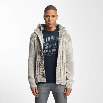 Petrol Industries Cardigan Knitwear gris
