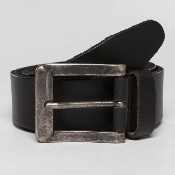 Petrol Industries Gürtel Leather schwarz