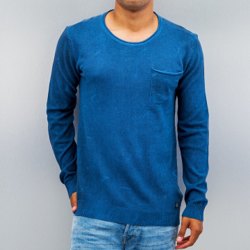 Petrol Industries Pullover Pocket blau