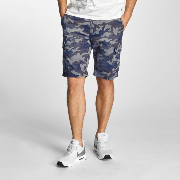 Petrol Industries Short Camouflage bleu