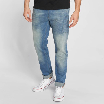 Petrol Industries Straight Fit Jeans Mechanic Tapered blau