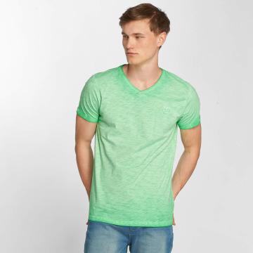 Petrol Industries T-paidat Melange vihreä