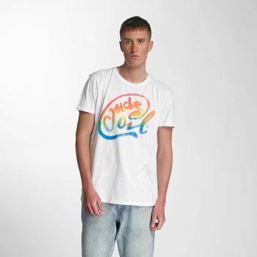 Petrol Industries T-Shirt Oil blanc