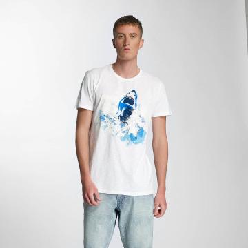 Petrol Industries T-Shirt Shark blanc