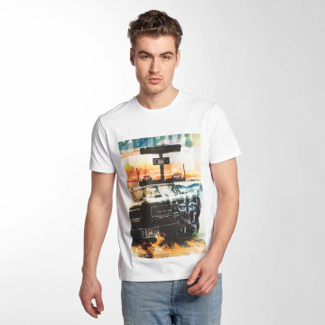 Petrol Industries T-Shirt Georgia blanc