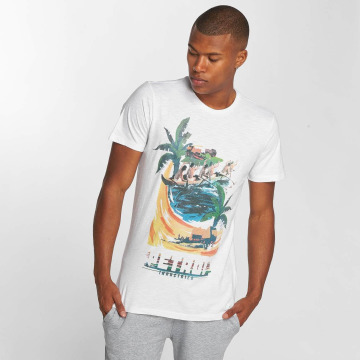 Petrol Industries T-Shirt Boat blanc