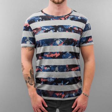 Petrol Industries t-shirt Stripes grijs
