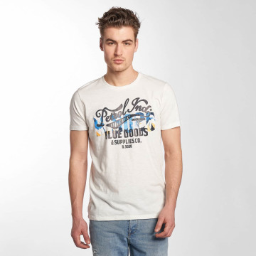 Petrol Industries T-Shirty Blue Goods bialy
