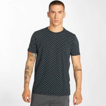 Petrol Industries T-Shirty Print niebieski