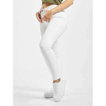 Pieces Облегающие джинсы PCFive Delly белый
