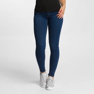 Pieces Облегающие джинсы pcShape Up синий