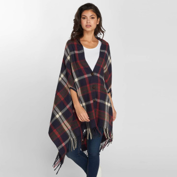 Pieces Cardigan PcRylana Poncho blu