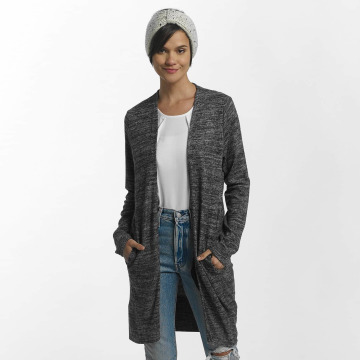 Pieces Cardigan pcAsta Long grigio