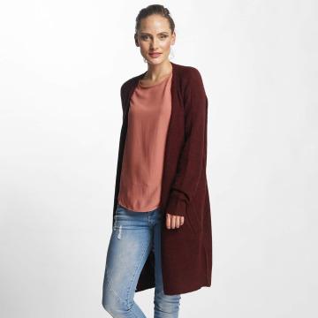 Pieces Cardigan pcJane Long Wool rouge