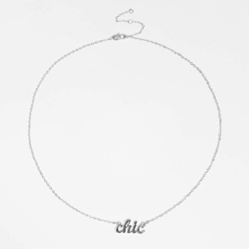 Pieces Collier pcMila argent