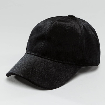 Pieces Gorra Snapback pcRomina Velvet negro