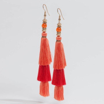 Pieces Korvakorut pcLynn oranssi