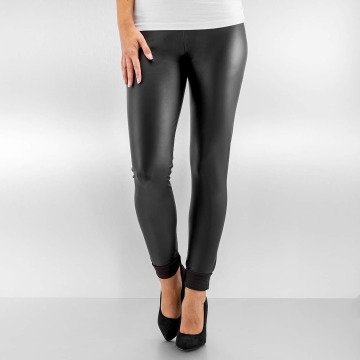 Pieces Legging pcNew Shiny schwarz