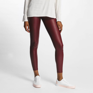Pieces Leggings/Treggings pcPetra Shiny red