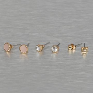 Pieces Náušnice pcMalle New Basic zlatá