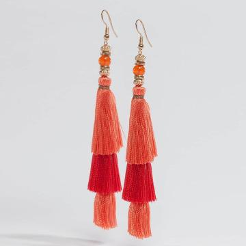 Pieces oorbel pcLynn oranje