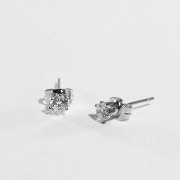 Pieces oorbel pcKelly zilver