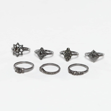 Pieces Ring pcFilippa grau