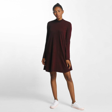 Pieces Robe pcJasmin Knit rouge